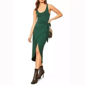 New Reformation Kaila Wrap Style Jersey Dress